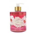 Jeanne en Provence Pivoine Féérie - Peony fairy washing gel hand dispenser 500 ml