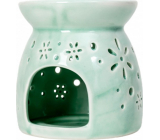 Heart & Home Aromalampa small green 9.5 cm