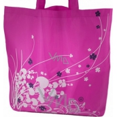 Foldable shopping bag with case - different motives, different colors 1 piece