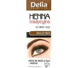Delia Cosmetics Henna eyebrow and eyelash color Brown 2 g