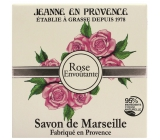 Jeanne en Provence Rose Envoutante - Captivating rose solid toilet soap 100 g