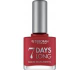 Deborah Milano 7 Days Long Nail Enamel Nail Polish 860 Strawberry Red 11 ml