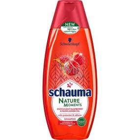Schauma Nature Moments Juicy raspberry and sunflower oil for color protection and shine hair shampoo 250 ml