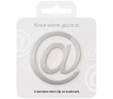 Where You Are At Bookmark Metal tab 50 x 0.5 x 55 mm