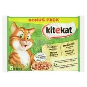 Kitekat Poultry menu pouch for adult cats 4 x 100 g