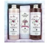 Bohemia Gifts Boho Style & Gentleman Rose and Rosehip Shower Gel 250 ml + Toilet Soap 145g + Hair Shampoo 250 ml Cosmetic Set