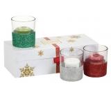 YC.DS votiv 3pcs + 3pcs candlestick / Christmas gift set 2017