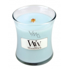 WoodWick Pure Comfort - Purity and Comfort Scented Candle with Wooden Wick and Glass Small Lid 85 g
