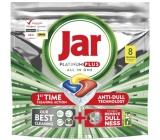 Jar Platinum Plus All in One Lemon Dishwasher Capsules 8 pcs