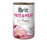 Brit Paté & Meat Chicken and turkey pure meat paté Complete food for puppies of all breeds 400 g