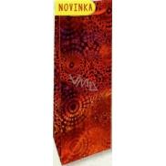 Nekupto Gift Paper Bag 33 x 10 x 9 cm Red Hologram 121 30 THLH