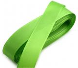 Nekupto Fabric taffeta ribbon green 3 mx 15 mm