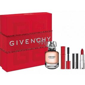 Givenchy L Interdit Eau de Parfum for Women 50 ml + mascara 4 g + lipstick 1.5 g, gift set