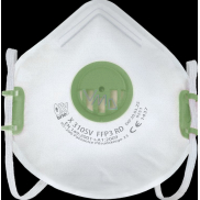 Respirator FFP3 Oxyline X 310 SV with valve Professional protection 1 piece