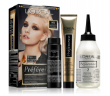 Loreal Paris Préférence Féria hair color 102 very very light blond rainbow