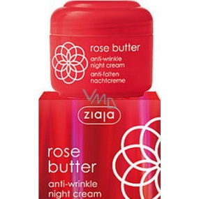 Ziaja Rose flower anti-wrinkle cream for night 50 ml