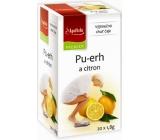 Apotheke Natur Pu-erh and lemon tea helps fight overweight 20 x 1.8 g