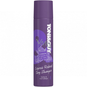 Toni & Guy Express Reboost dry shampoo for extreme hair volume spray 250 ml