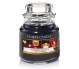 Yankee Candle Autumn Night - Autumn night scented candle Classic small glass 104 g