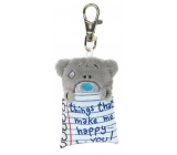 Me to You Teddy Bear Keychain Bear notes 7 cm