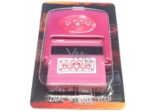 Albi Stamp with the image Hearts 6.5 cm × 5.3 cm × 2.5 cm