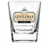 Do not buy the League of True Gentlemen Whiskey Glass GENTLEMAN is not just a legend, you are one of them.