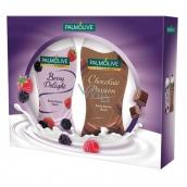 Palmolive Berry shower gel 250 ml + Chocolate shower gel 250 ml, cosmetic cassette