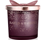Baylis & Harding Midnight Plum and Wild Blackberry 2 Wick Candle