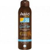 Astrid Sun Easy Spray Coconut Love OF20 Dry suntan oil 150 ml