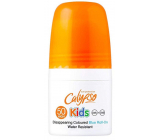Calypso Kids Colored Blue SPF50 blue waterproof roll-on suntan lotion for children 50 ml