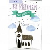 Nekupto Christening card 115 x 170 mm 3558 F