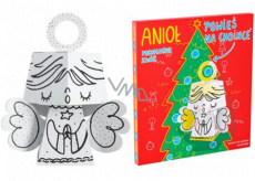 Ditipo 3D cardboard jigsaw puzzle Angel 15 cm