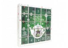 English Tea Shop Bio Advent calendar Puzzle green 25 pieces of tea, 13 flavors, 48 g, gift set