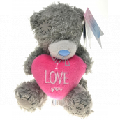 Me To You Teddy bear with a pink heart I love you 12 cm