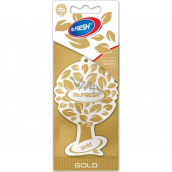 Mister Fresh Car Parfume Gold hanging air freshener 7.5 g