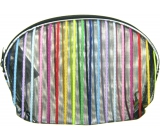 Etue Transparent - color stripe 11 x 8.5 x 1.5 cm 70150 1 piece