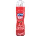Durex Play Sweet Strawberry lubricating gel with dispenser 50 ml