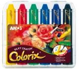 Amos Colorix edges, washable colors, 6 pieces in a case