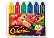 Amos Colorix counters, washable colors, 6 pieces in case