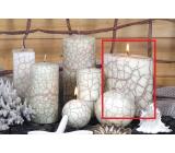 Lima Nevada ivory candle ellipse 110 x 125 mm 1 piece