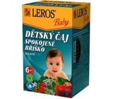 Leros Baby Satisfied belly herbal tea for children 20 x 2 g