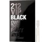 Carolina Herrera 212 VIP Men Black Eau De Parfum Spray 1.5 ml, Vial