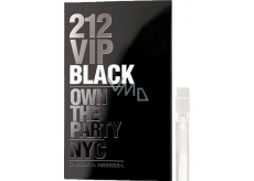 Carolina Herrera 212 VIP Men Black Eau De Parfum Spray 1.5 ml, Vial