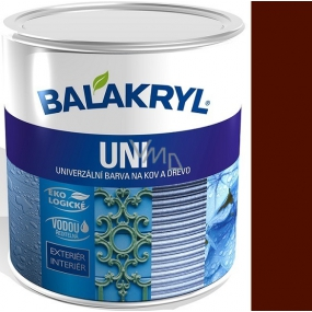 Balakryl Uni Mat 0240 Dark brown universal paint for metal and wood 700 g