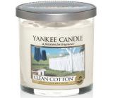 Yankee Candle Clean Cotton - Čistá bavlna vonná svíčka Décor malá 198 g
