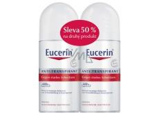 Eucerin 24 h roll-on deodorant ball-free deodorant for sensitive skin 2 x 50ml