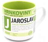 Nekupto Hrnkoviny Mug with the name Jaroslav 0.4 liter