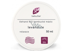 Aromatica Bebutter Bio Lavender whipped shea butter for perfect body care 50 ml