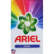 Ariel Color Wash Powder box 48 doses 3.6kg