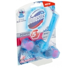 Domestos Power 5 Blue Water Pink toilet block for lime scale and long lasting freshness of your toilet 53g